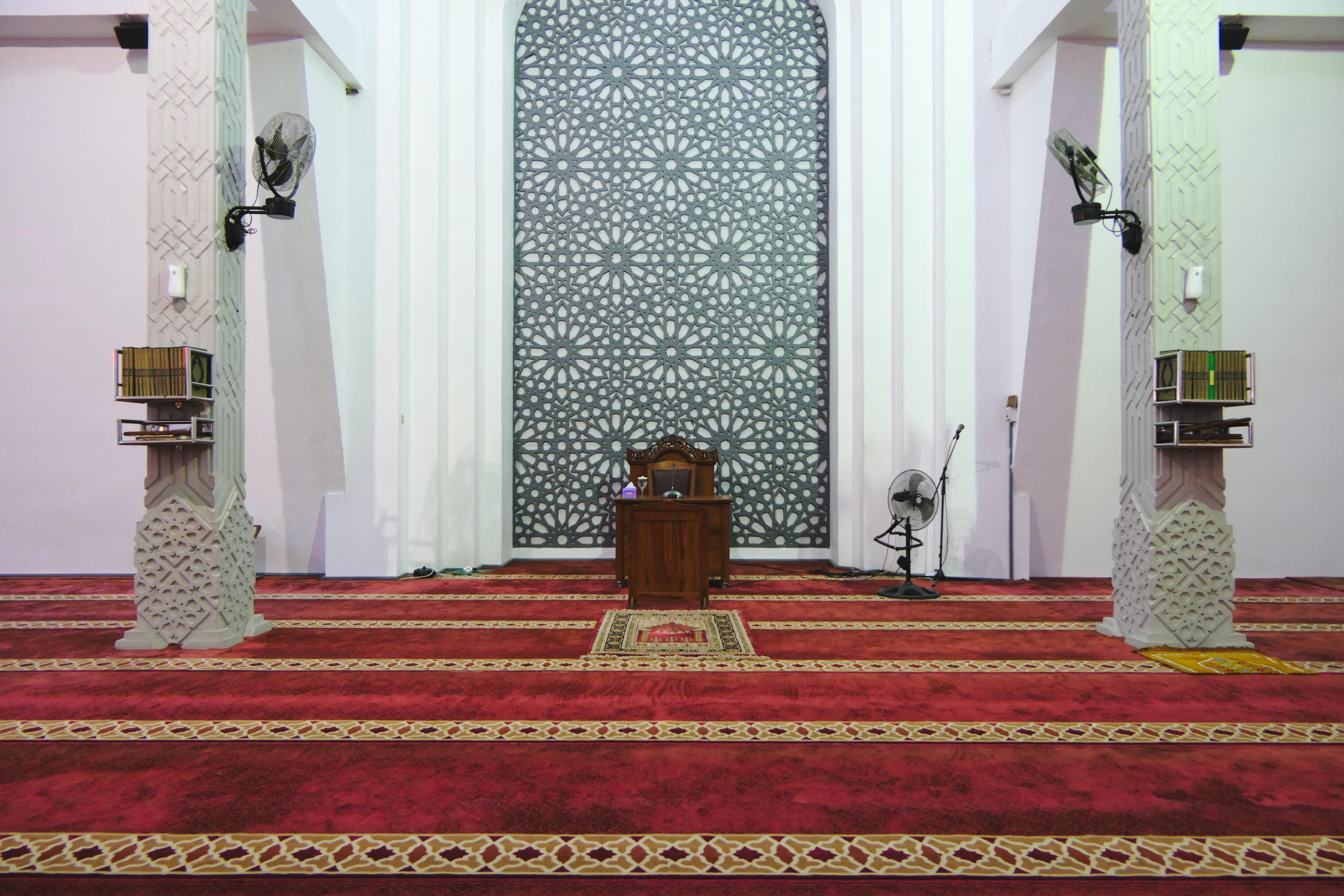 Islamic Faith Mosque Prayer Area